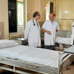 Isolation wards at Kolkata and Haldia for treatment of Coronavirus patients