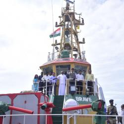 23rd Aug'19-Tug tour to Visit VOC Port Trust