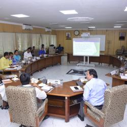 23rd Aug'19- Discussed Development Plan at VOC Port Trust