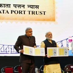 Launch of Kolkata Port Anthem and Stamp during its 150 Years of Celebration
