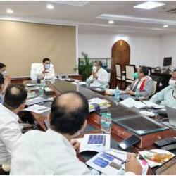 Looking forward to realizing Hon'ble PM Shri Narendra Modi Ji's vision for India's maritime sector, Shri Sarbananda Sonowal interacted with MoPSW officials