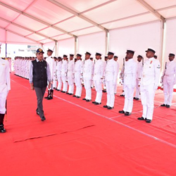 Received a warm welcome at Chennai Port. As we say, the morning shows the day, here's to a wonderful start with the #GuardOfHonor.Anticipating many more accomplishments for the day ahead.