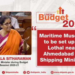 Setting up of Maritime Museum at Lothal is a landmark decision for the maritime community.