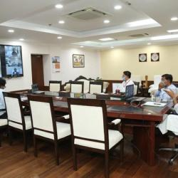 Minister had a VC with Seafarers Unions & Shipping Lines Co. & asked them to provide details of stranded Indian Seafarers, outside India. Ministry is charting out the plan to evacuate them and drawing the SOP to sign on /off process at Indian ports