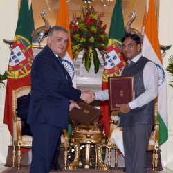 India's relationship with Portugal has always been characterised by warmth & goodwill based on mutual respect.