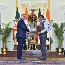 Also Cooperation Agreement signed between India and Portugal in the field of Maritime Transport and Ports.