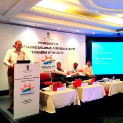 Sagarmala Workshop:  Accelerating Sagarmala implementation - Engaging with States (9th June 2017)