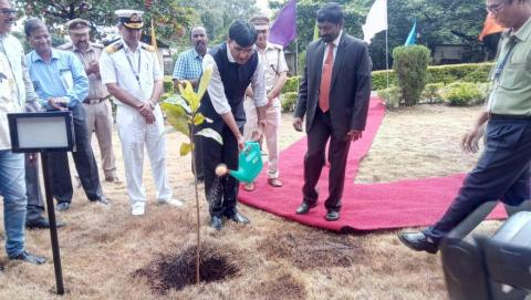 26th Sept'19- Mormugao Port Trust - Planted Sapling