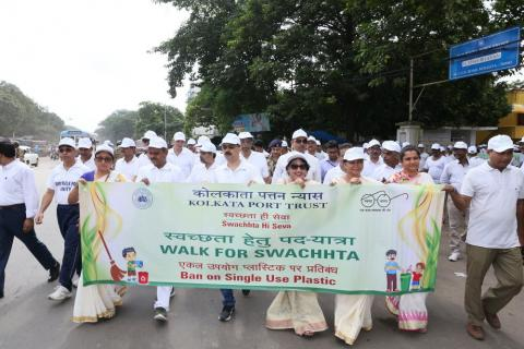 Swachh India Mission (Kolkata Port)