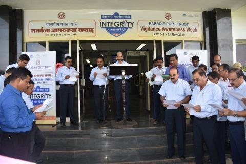 Vigilance Awareness Week 2019 at India_s Major Ports (PPT - Vigilance Awareness Week)