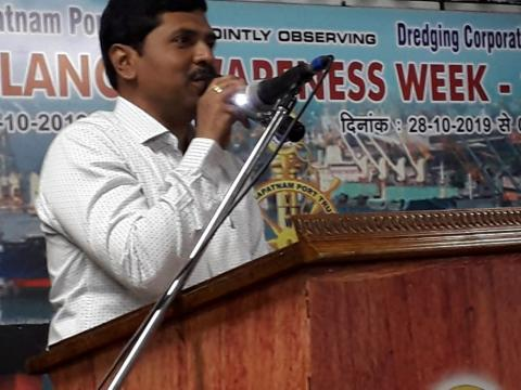 Vigilance Awareness Week 2019 at India_s Major Ports (Visakhapatnam Port)