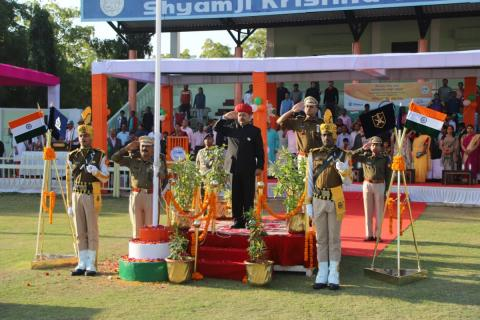 Republic Day Port Celebrations at India_s Major Ports (Deendayal Port Trust Celebrations Pics)