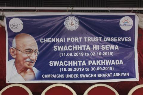 Swachh India Mission (Chennai Port)