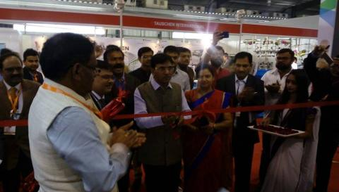inaugurating the Sagarmala Pavilion