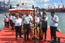 Shri Mansukh Mandaviya_s First Official Visit to Paradip Port Trust