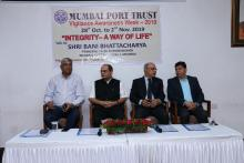 Vigilance Awareness Week 2019 at India_s Major Ports (Mumbai Port Trust)